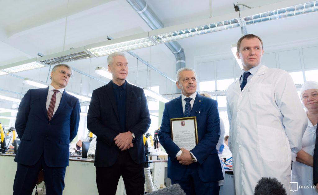 Руководство столицы присвоит «Авангарду» статус индустриального комплекса— Собянин