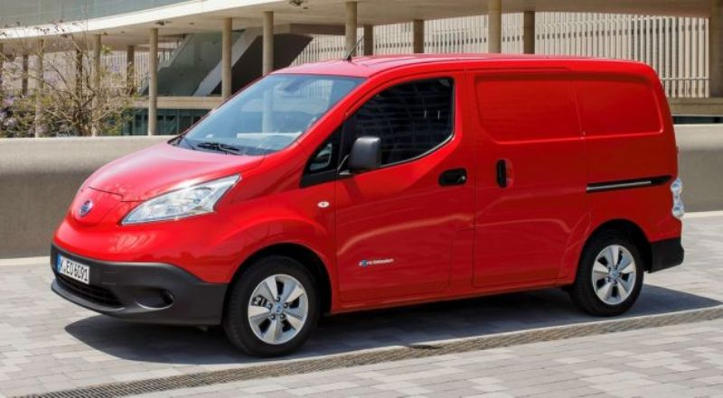 Продажи электрофургона Ниссан e-NV200 на рынке стран Европы увеличились на7%