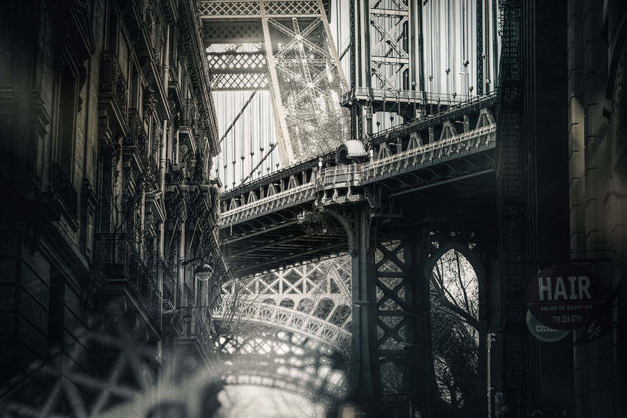 Incredible Project Mixing Photos of Paris and New York