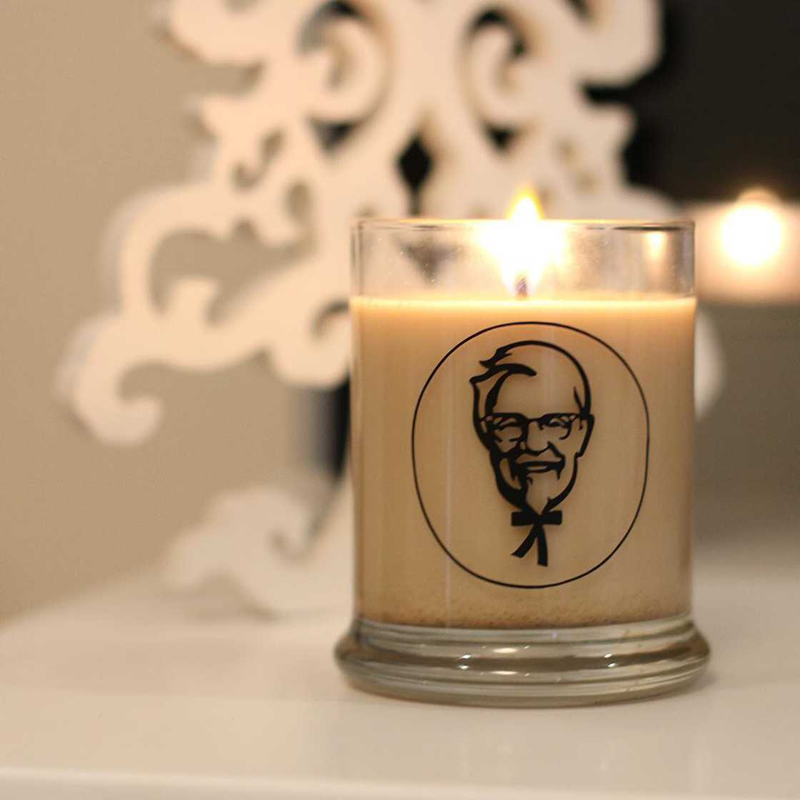 KFC - A fried chicken scented candle
