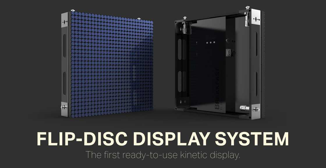 Flip-Disc Display - Bringing the analog display back to life