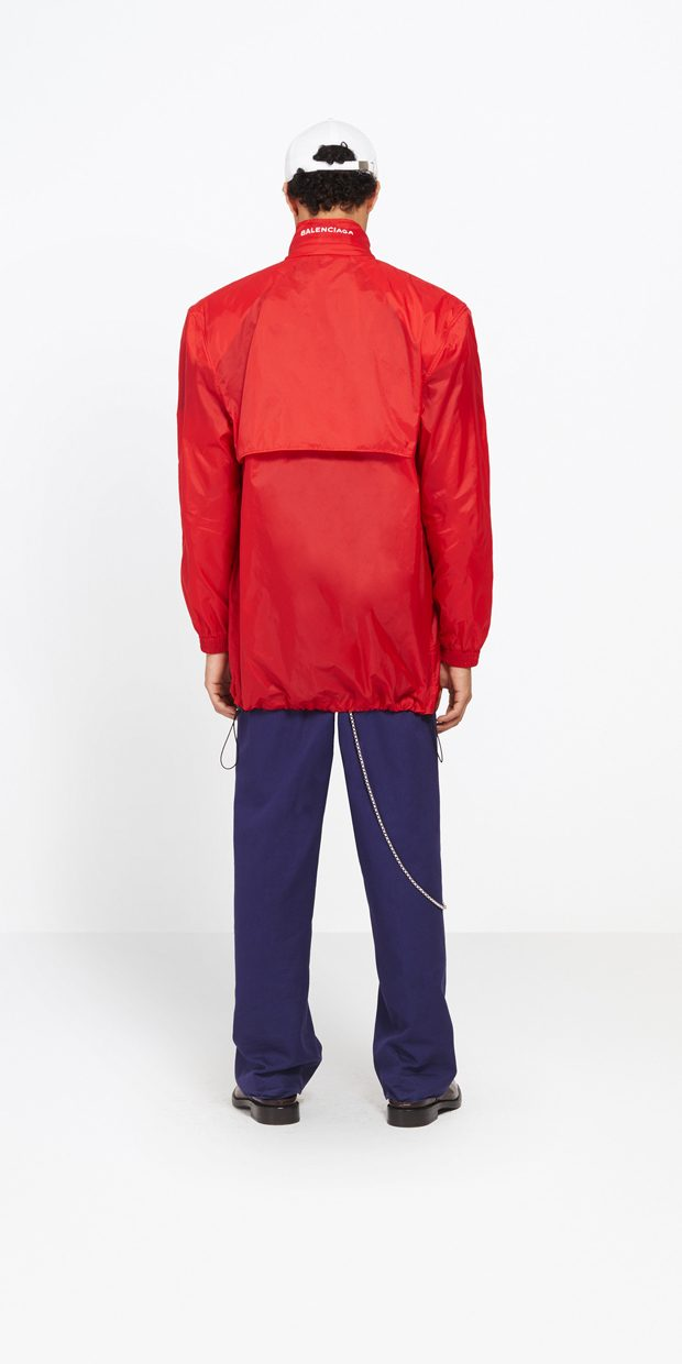 Discover Balenciaga's New Water-Resistant Wind Jackets