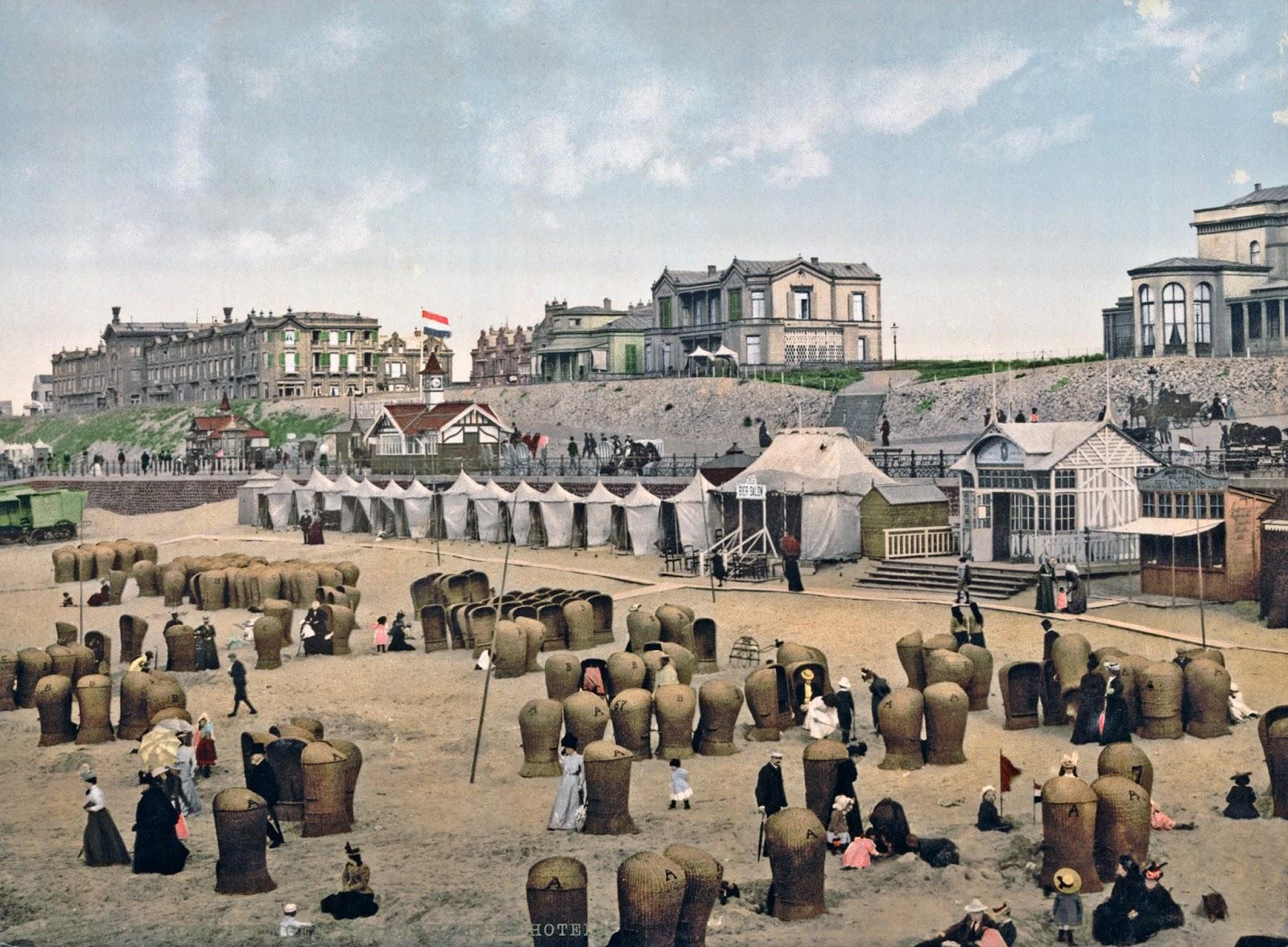 The beach and hotels, Scheveningen, Holland, ca. 1890-1900.jpg