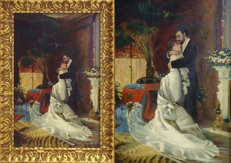 Hayllar Edith (British 1860-1948) In the manner of The Secret