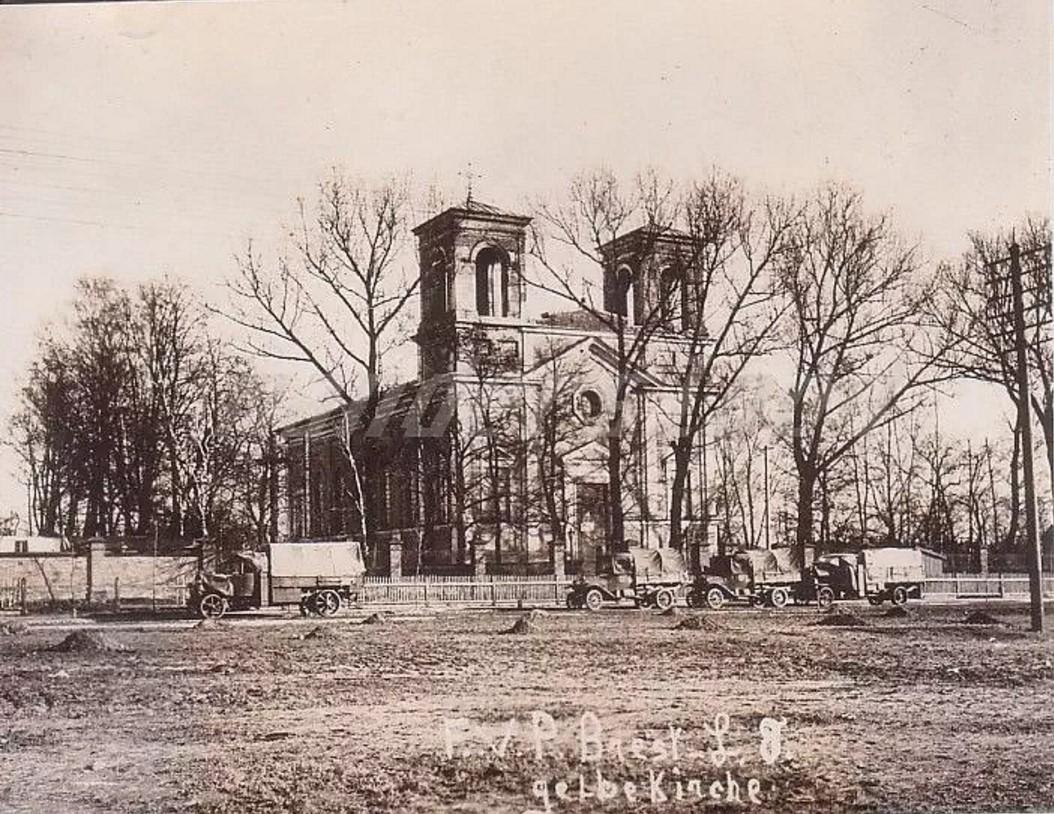 Вид на Церковь Воздвижения Святого Креста