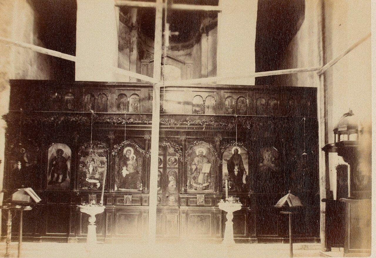 115. Афины. Византийская церковь. Интерьер