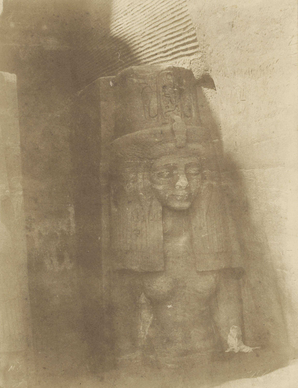 Абу-Симбел. Статуя женщины