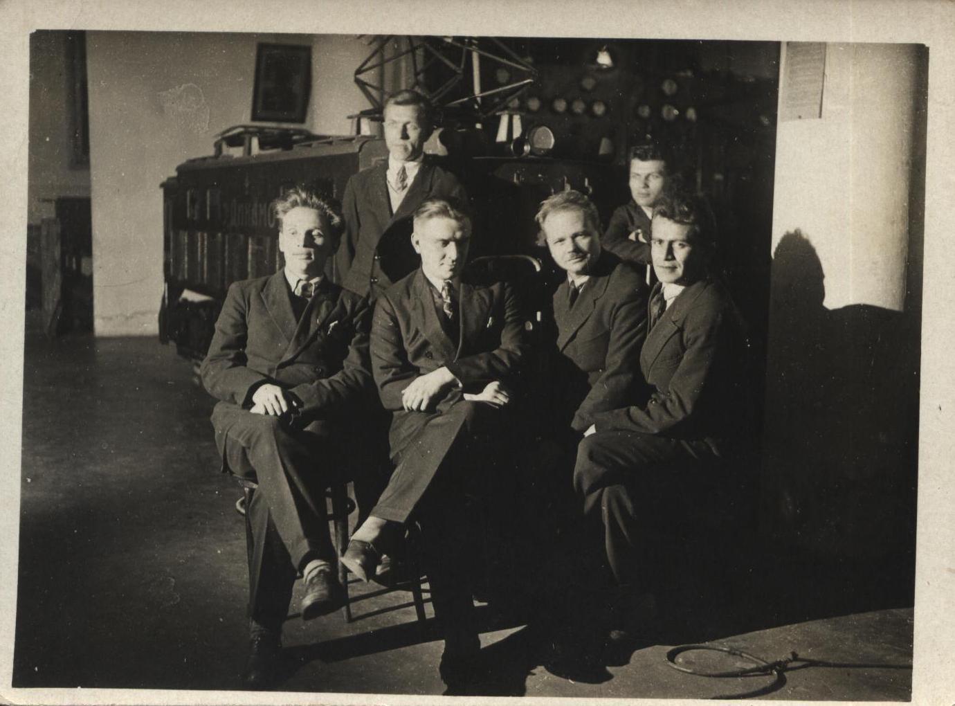 1930-е. Фотографии студентов ЛИИЖТа