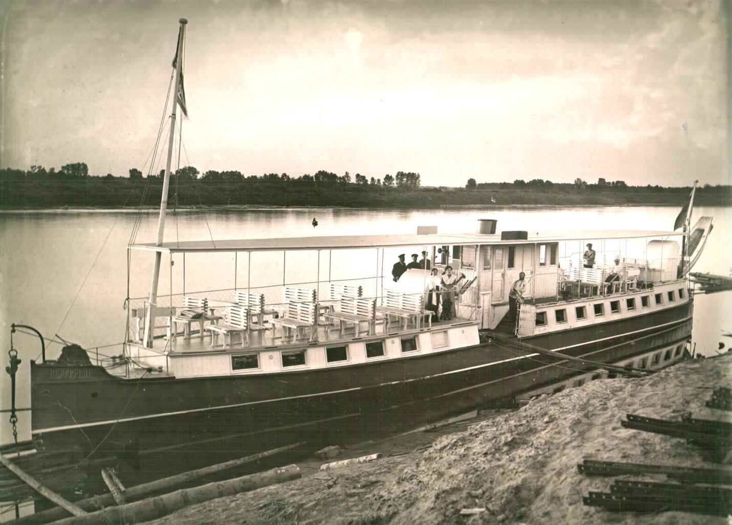 Пароход Быстрый, 1912