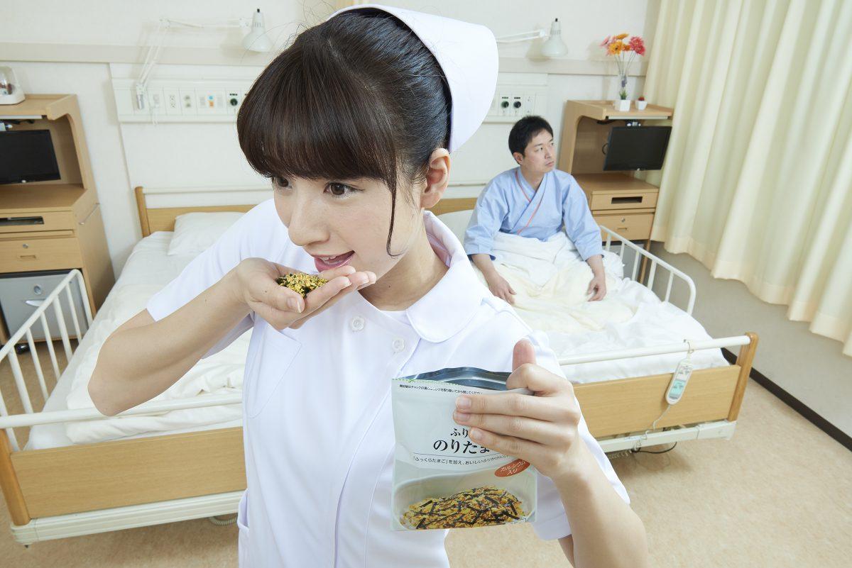 Забавные снимки японской медсестры