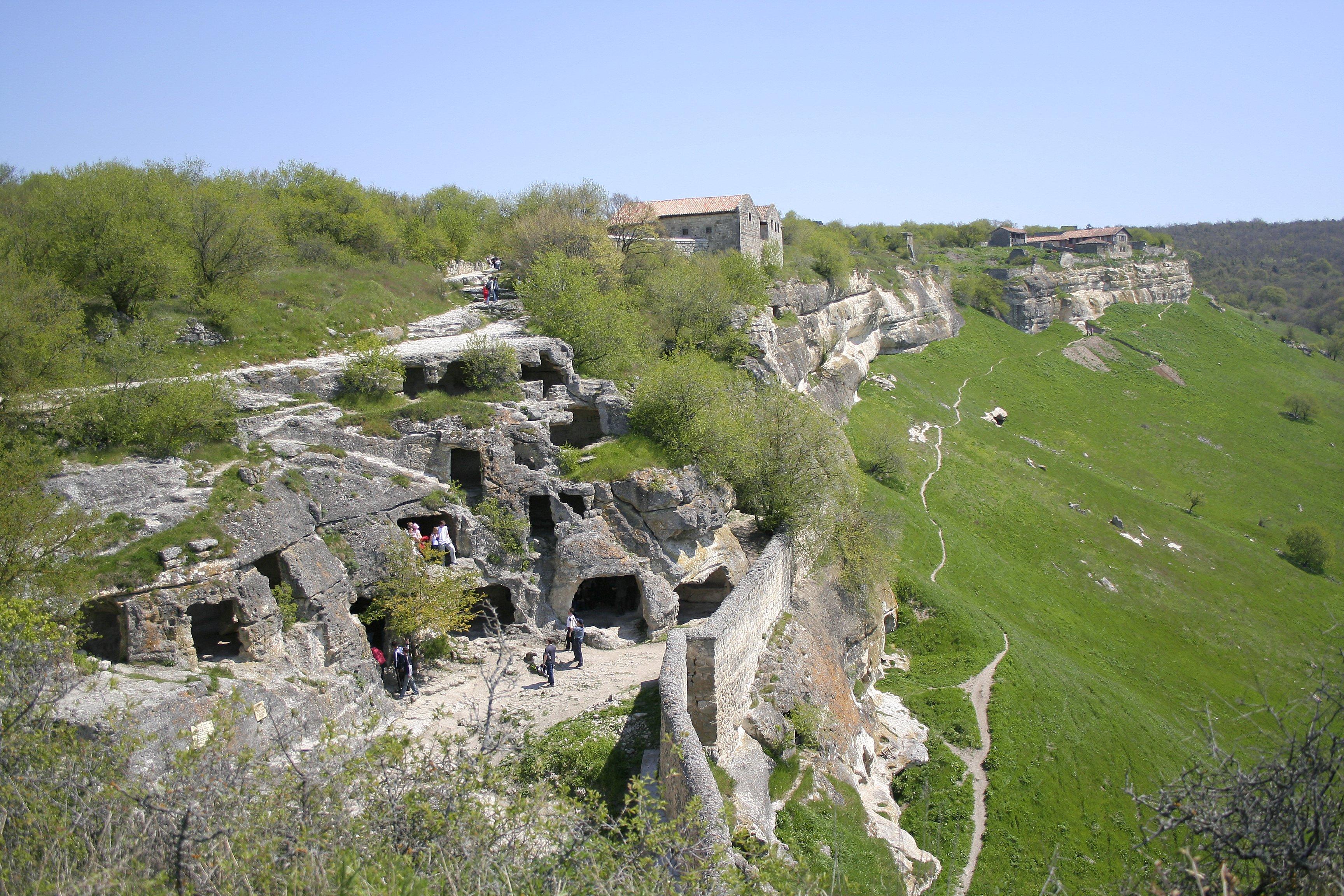 alexbelykh.ru, Крым, Чуфут-Кале, пещерный город Чуфут-Кале, пещерный город Бахчисарай