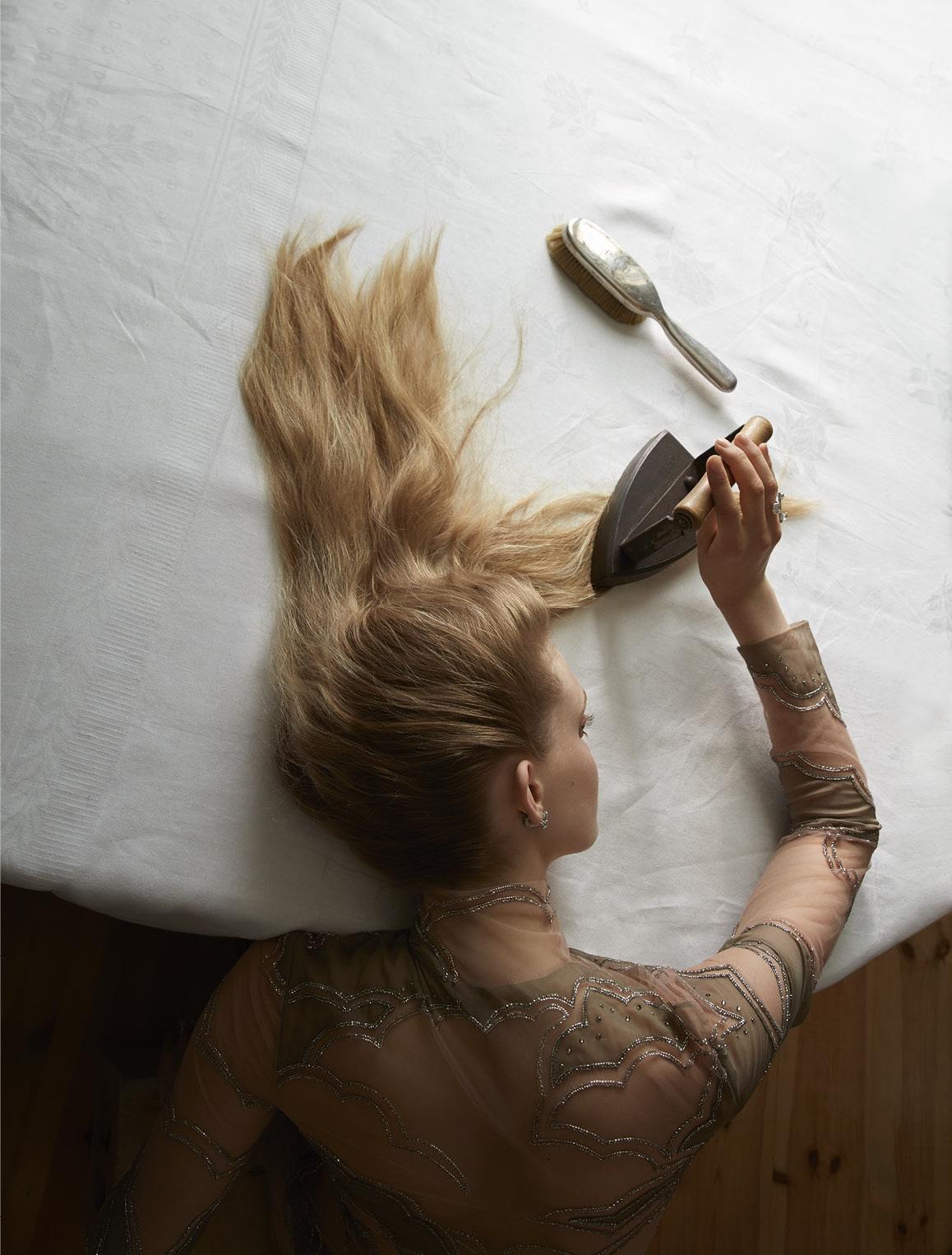 Сделай сам / Ella Wennstrom by Camilla Akrans for Vogue Italia November 2016