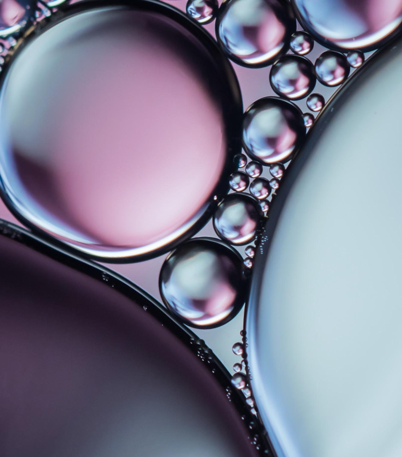Macro Bubbles / фото Karyn Easton