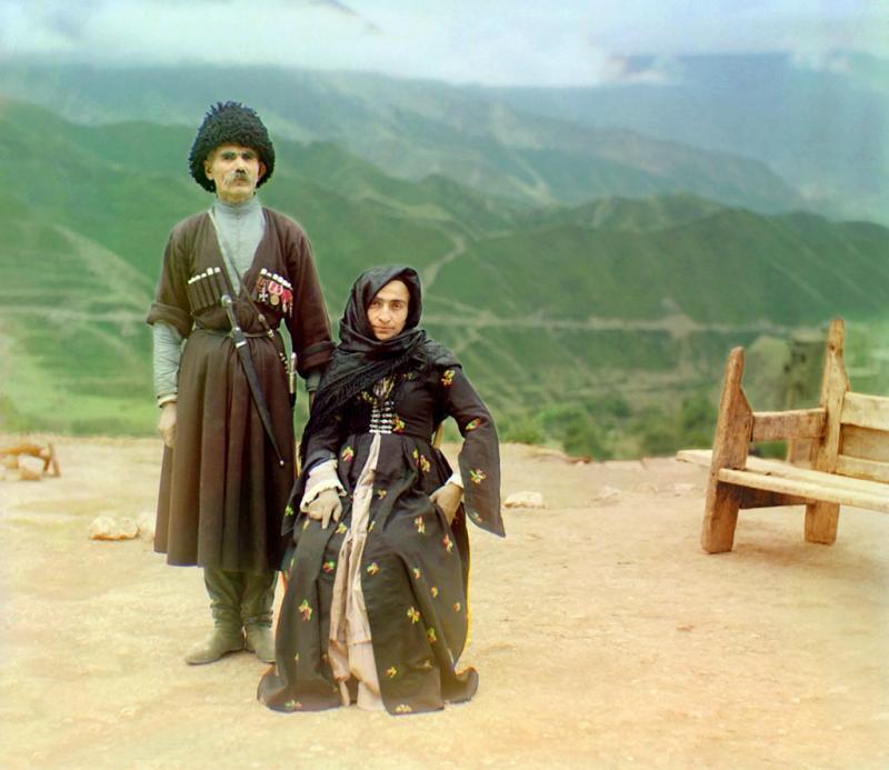 Российская империя. Первые цветные фото Прокудина - Горского