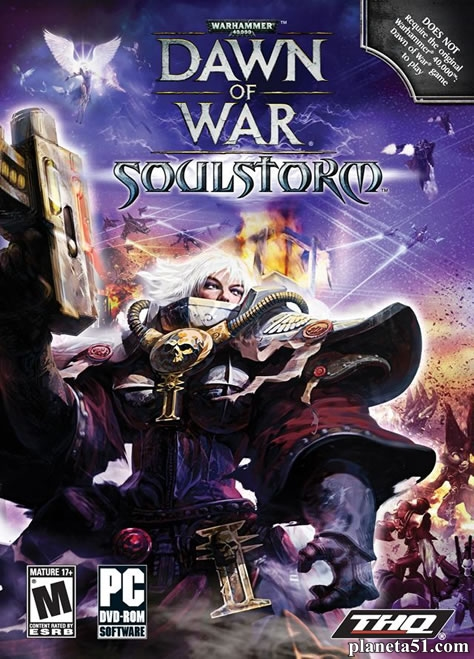 Warhammer 40.000: Dawn of War - Soulstorm (2008) PC | Repack от Diablock