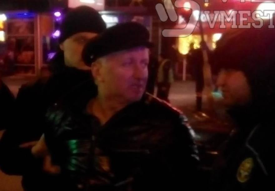 ВЗапорожье нетрезвый  полицейский устроил ДТП: появились фото