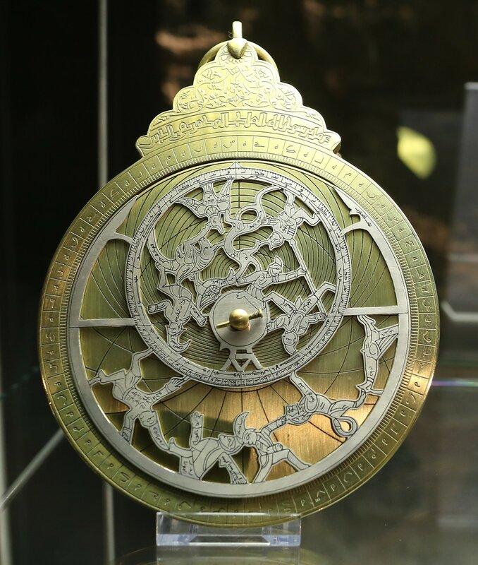 Стамбул. Музей истории исламской науки и техники. Астрономические приборы