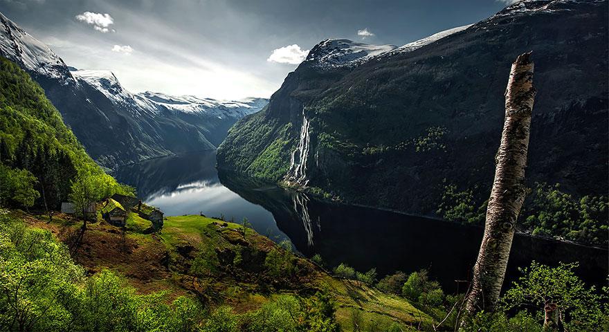 25. Водопад Семь сестёр, Гейрангер-фьорд