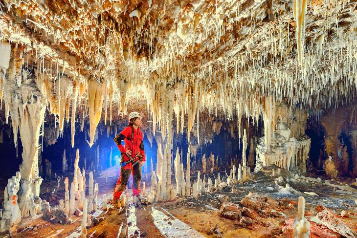 1. В Государственном парке Терра Ронка расположено 200 пещер, но только два открыты для посетит