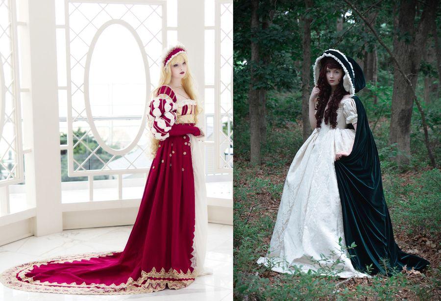 10. Сейчас девушка одержима модой средневековья. «Я люблю английскую моду 1620-30-х годов и бальные