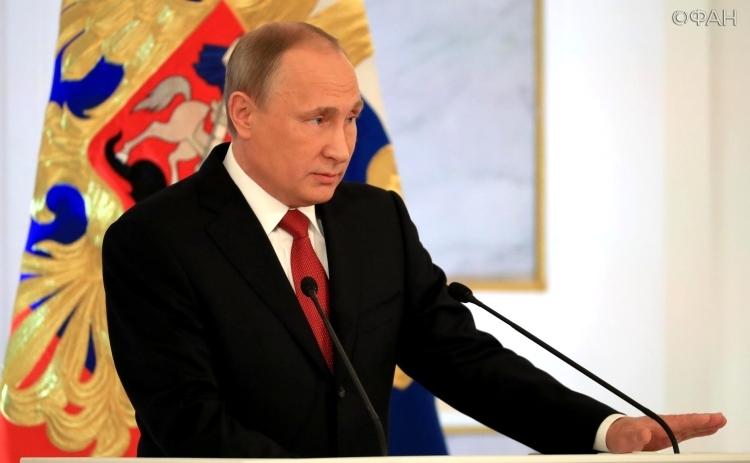 Путин призвал пользоваться энтузиазмом к орудию РФ, возросшему после операции вСирии