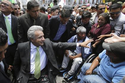 Ленин Морено одержал победу президентские выборы вЭквадоре