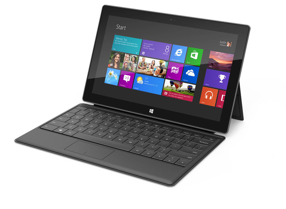 Юзеры назвали планшеты Microsoft лучшими, iPad на2-й позиции