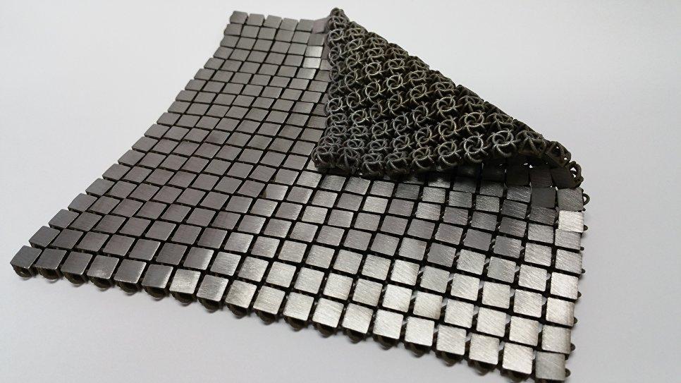 NASA создало космическую 4D-ткань изкусочков серебра