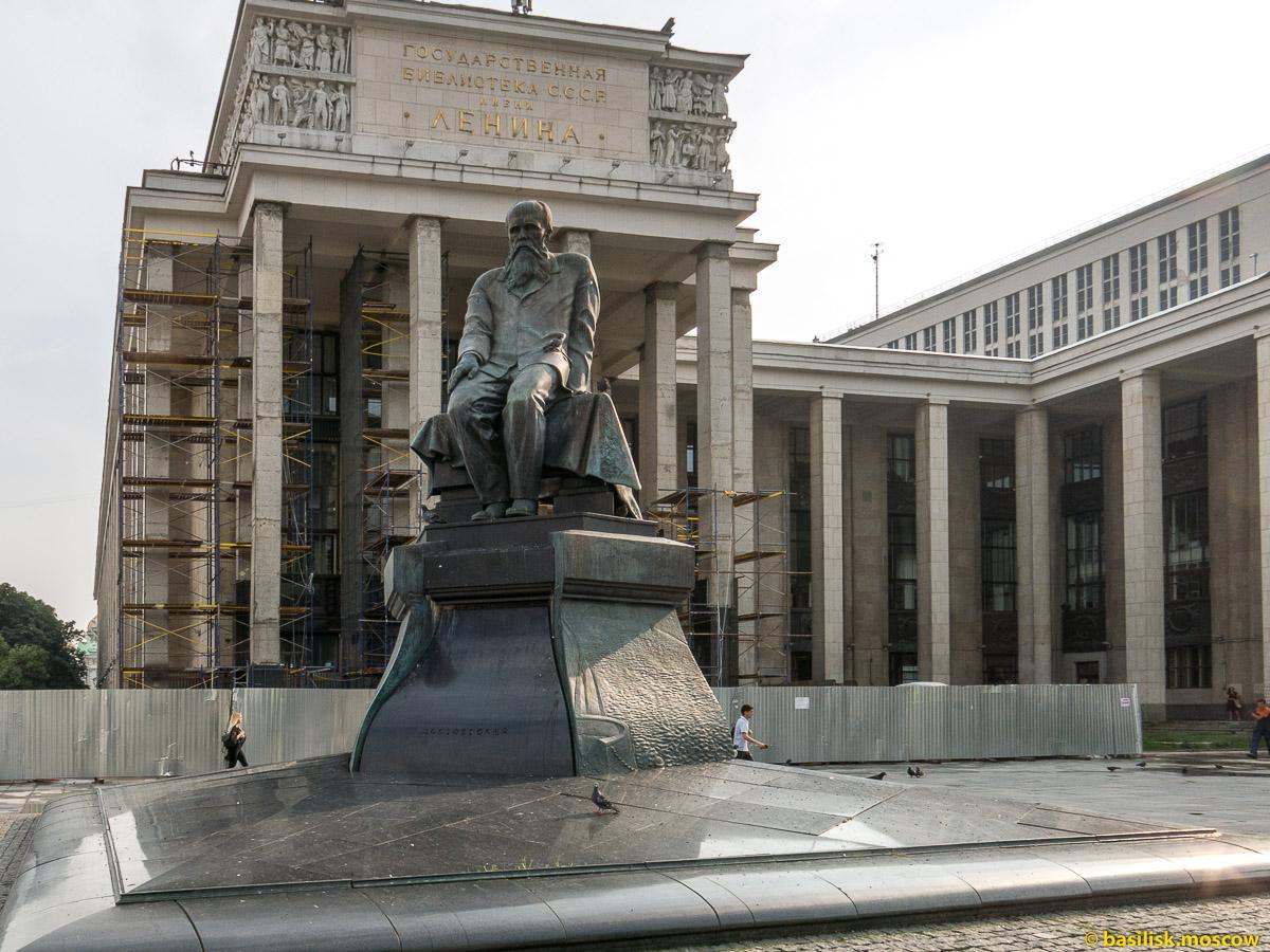 Воздвиженка. Российская государственная библиотека. Июль 2016