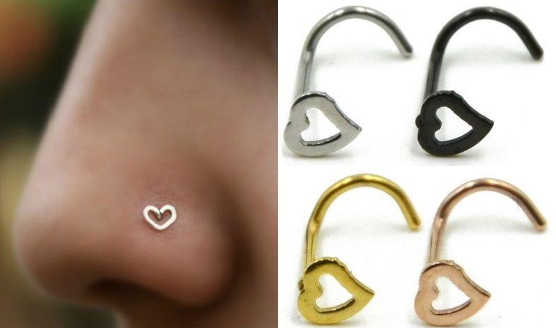 Сережки для пирсинга носа