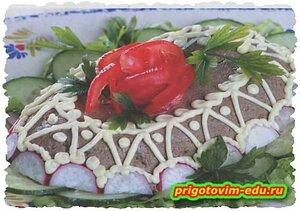 Печеночный говяжий паштет. домашний рецепт