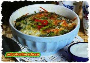 Суфле из шпината