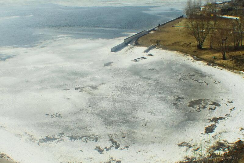 Волга, Саратов, 05 марта 2017 года