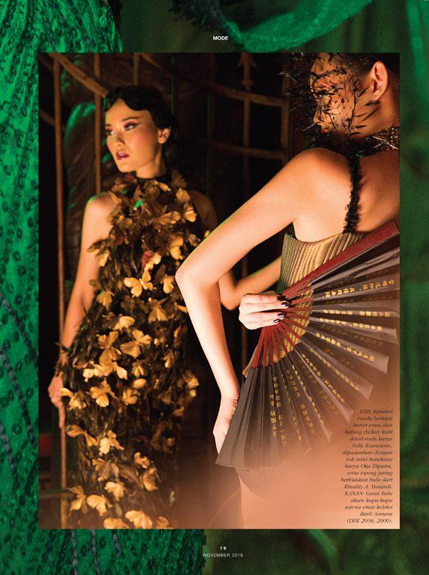 Gaby Hartanto & Dara Warganegara Stun for Dewi Magazine Indonesia
