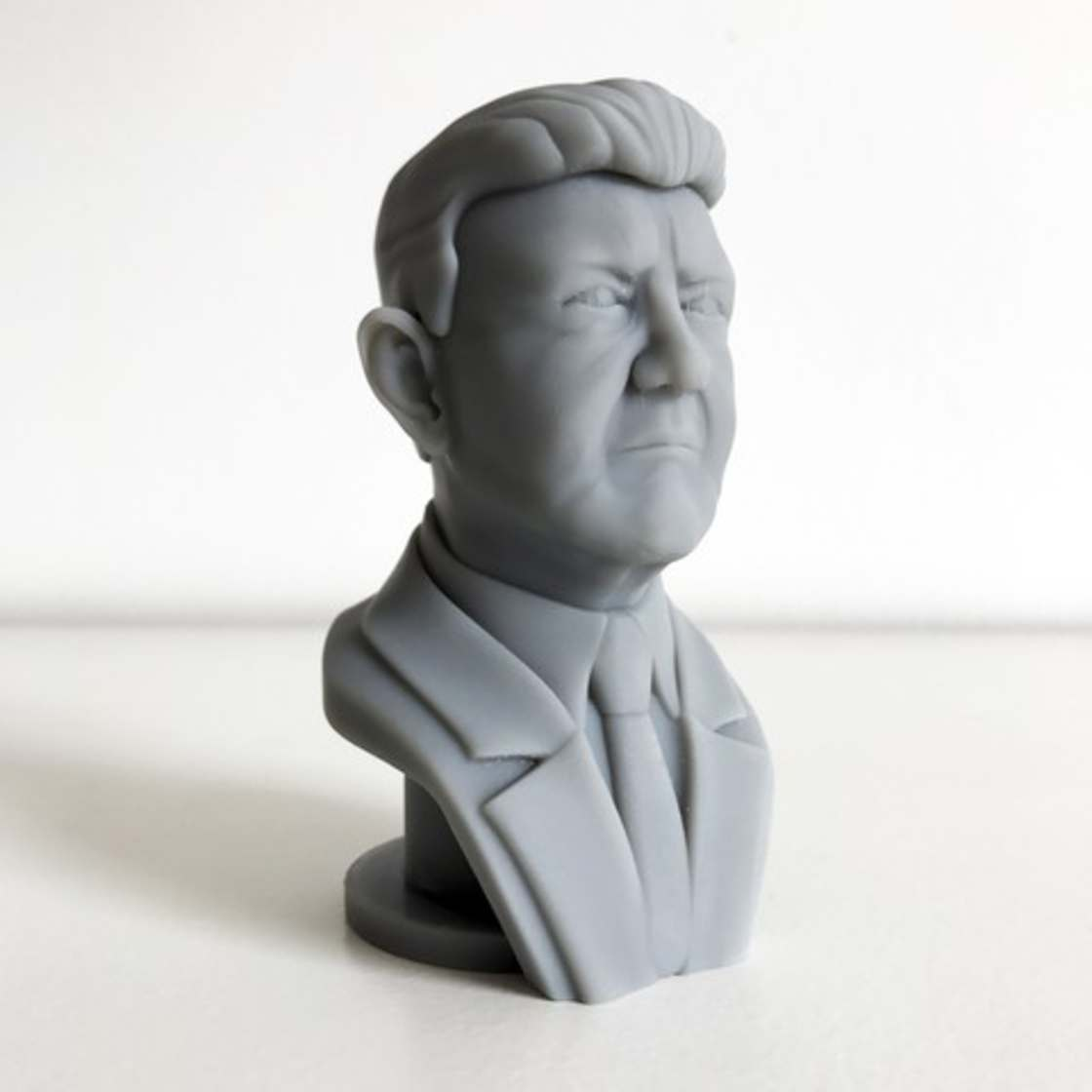 French Presidential 2017 - 3D printing your favorite candidates
