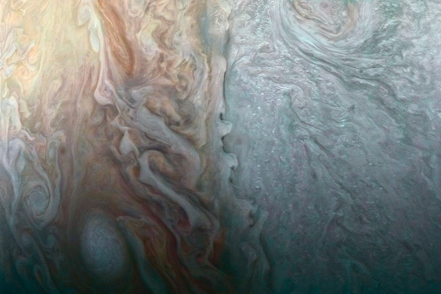 New Pictures of Jupiter from Juno Space Probe