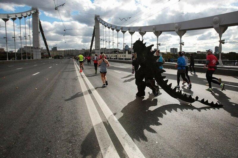 Осенний бег: интересные участники Московского марафона, 25 сентября 2016 года (фото)