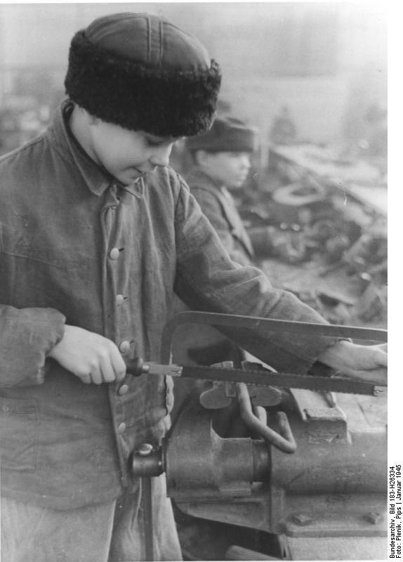 Berlin, 14-jдhriger Ukrainer Zwangsarbeiter