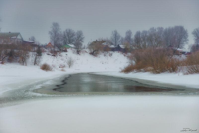полынья, февраль