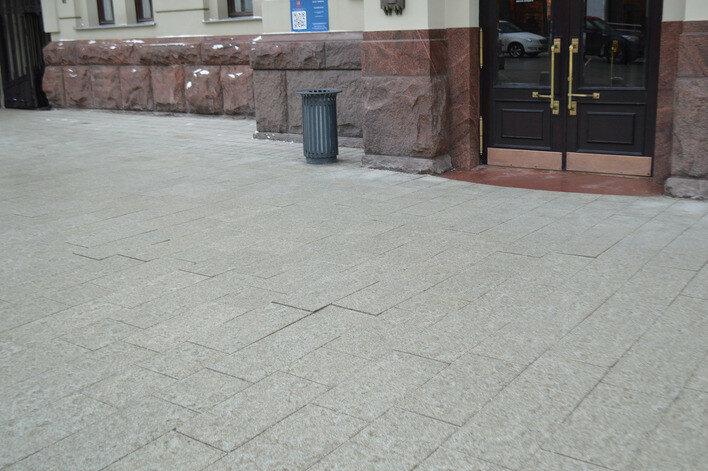 Плиточная пытка для москвичей!