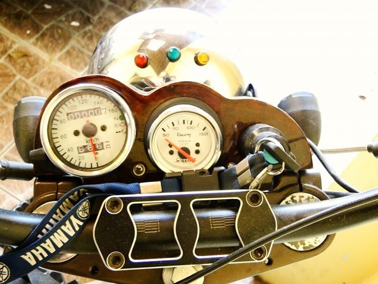 Стрит-трекер Yamaha DT180