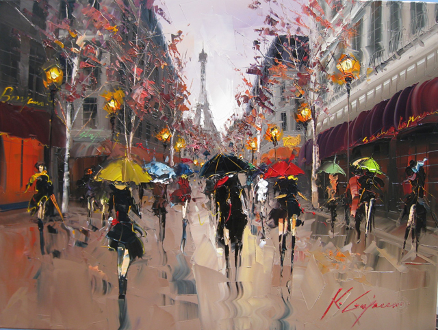 Kal Gajoum - Painter