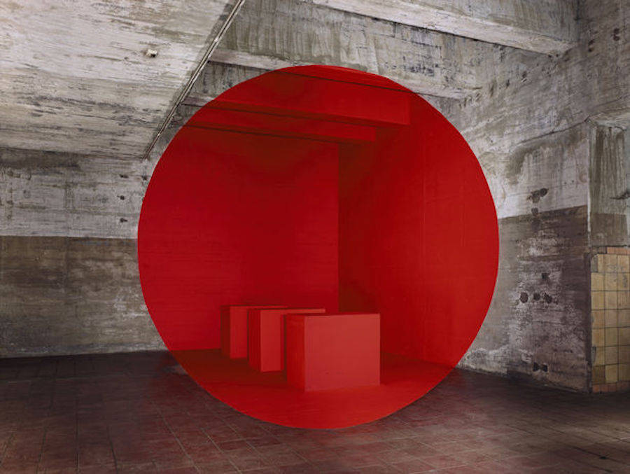 Single-Perspective Installations by Georges Rousse
