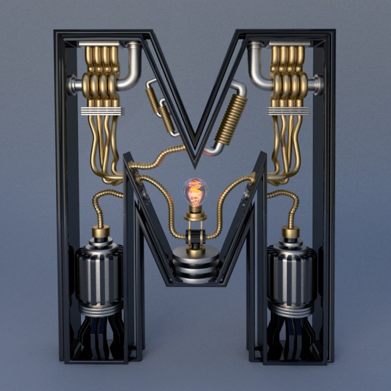Electromechanical Type by Jose Carlos
