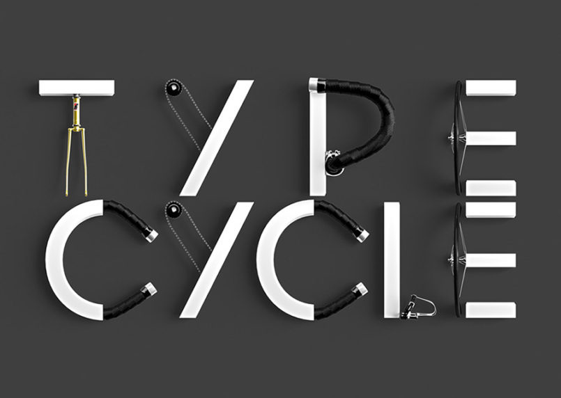 Type - Cycle: Creative Typography by Marcel Piekarski