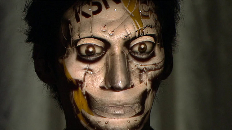 Face Hacking: 3D Projection Mapping by Nobumichi Asai