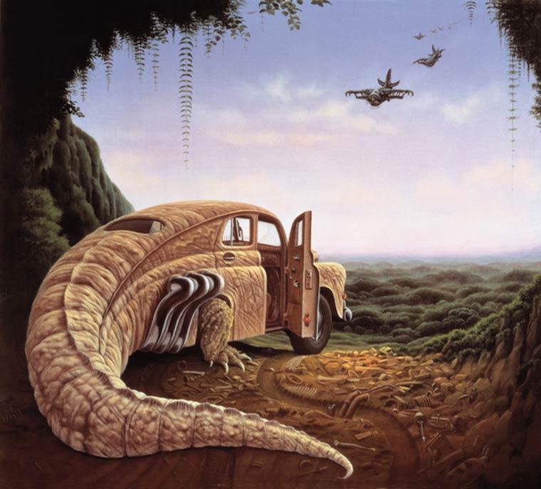Les creatures fantastiques de Jacek Yerka