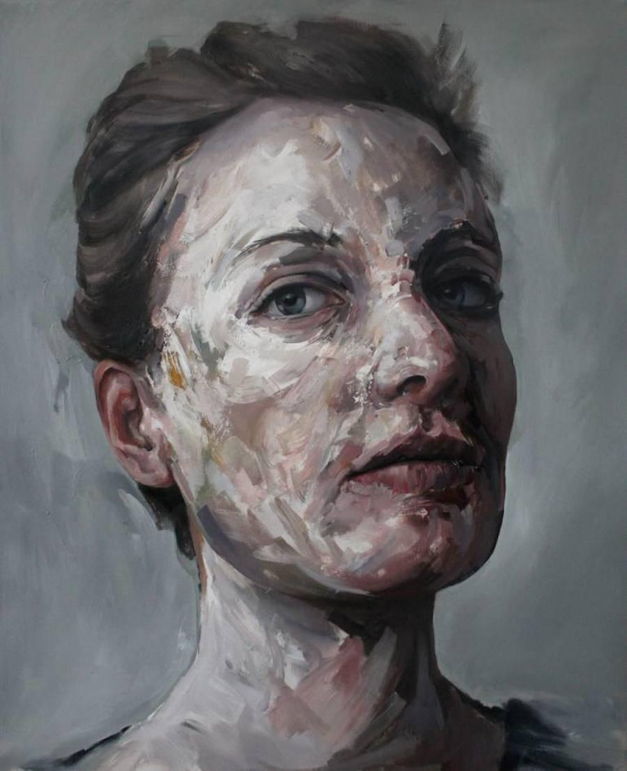Dark Portraits Paintings Losing Their Identity