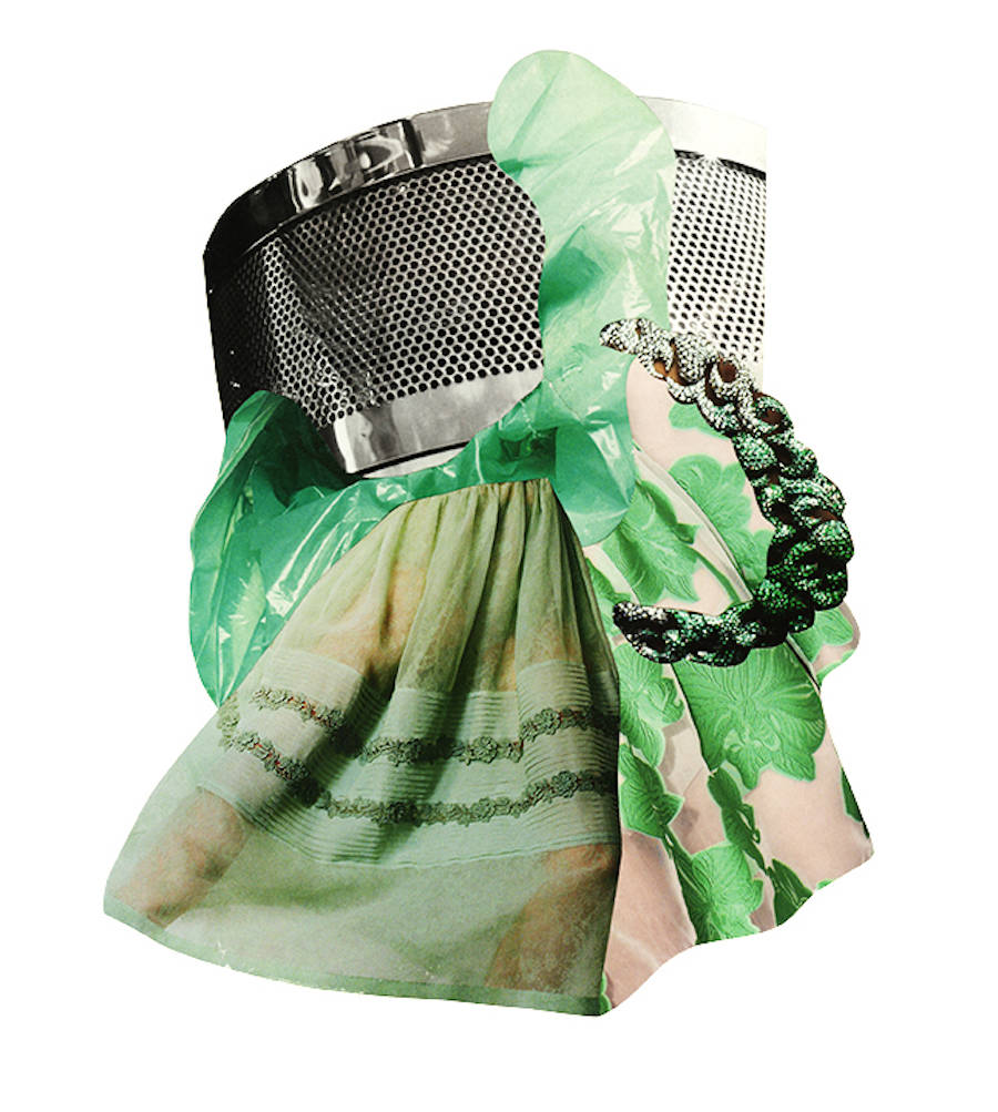 Handmade Vintage Fashion Collages