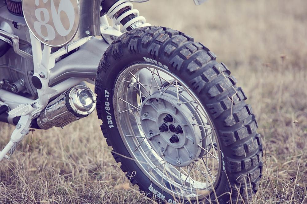 Wang Motorcycles: скрэмблер BMW R80G/S